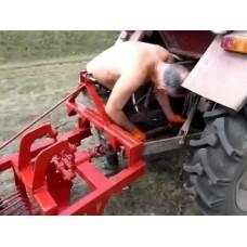 Картофелекопалка для трактора Т-25 (45 см)
